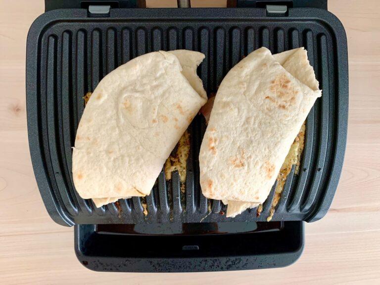 Bacon Cheeseburger Wrap OptiGrill