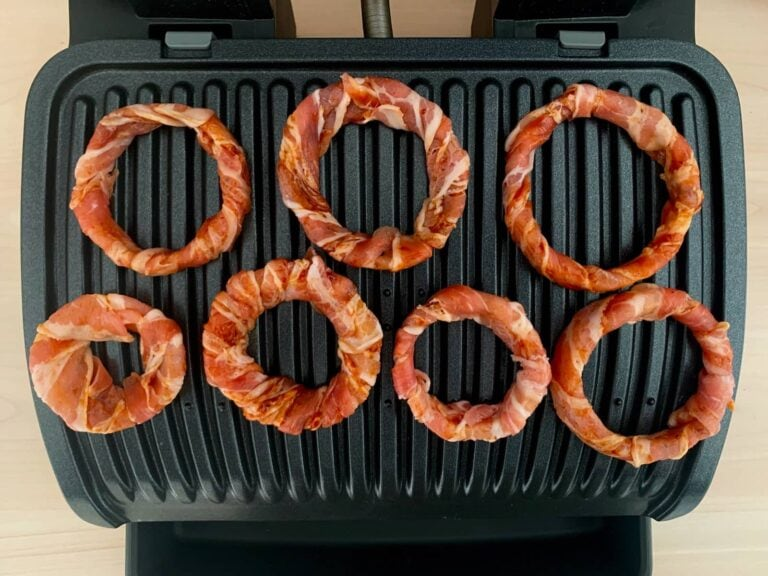 Bacon Zwiebelringe grillen