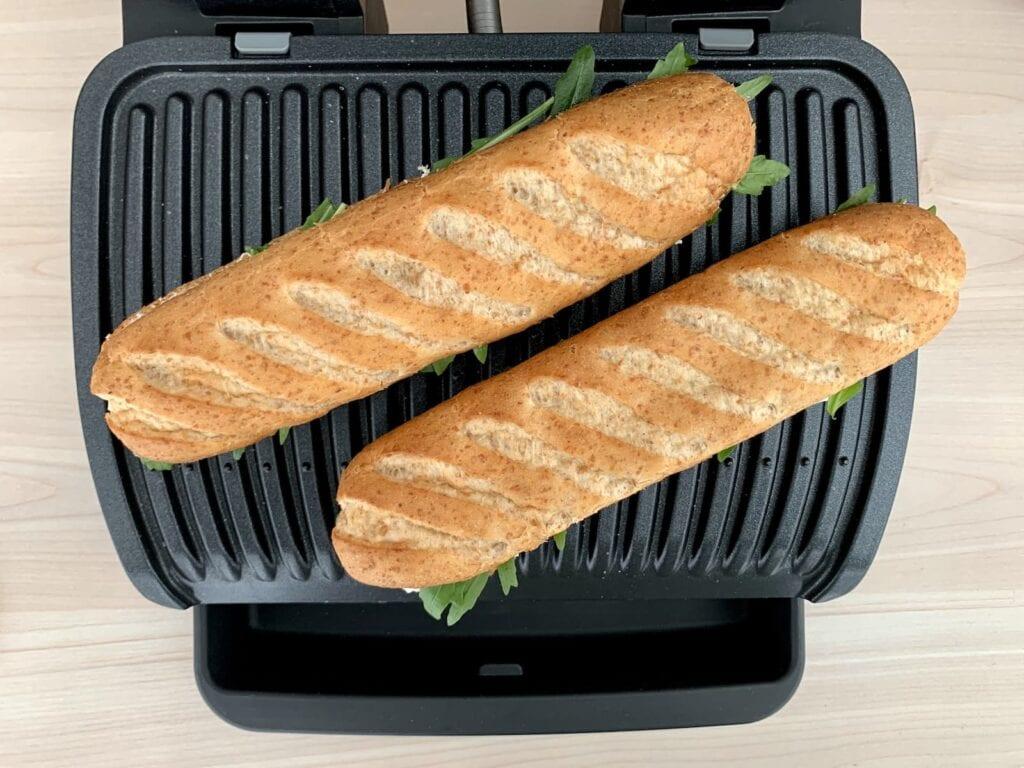 Baguettes Kontaktgrill grillen