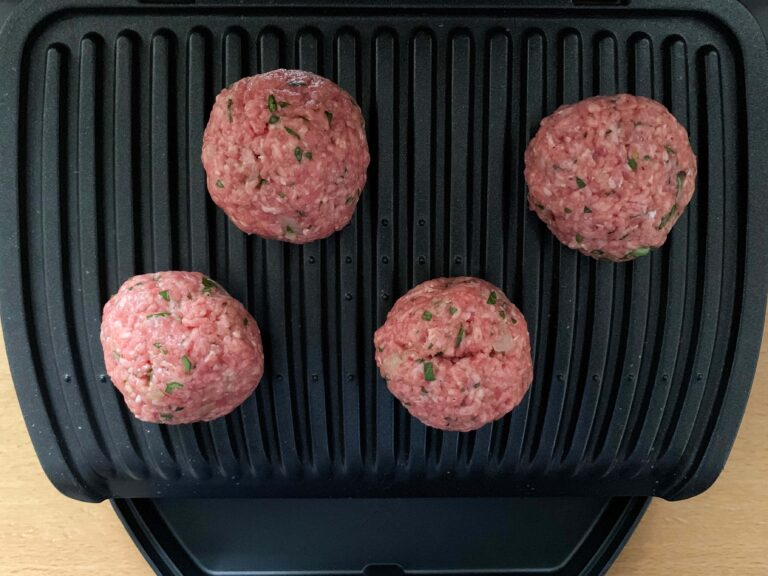 Bifteki grillen OptiGrill