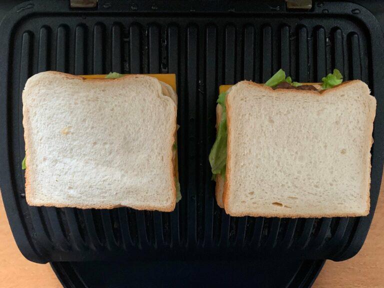 Big Mac Sandwich OptiGrill grillen
