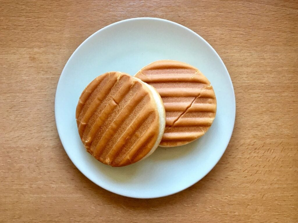Burger Broetchen Kontaktgrill