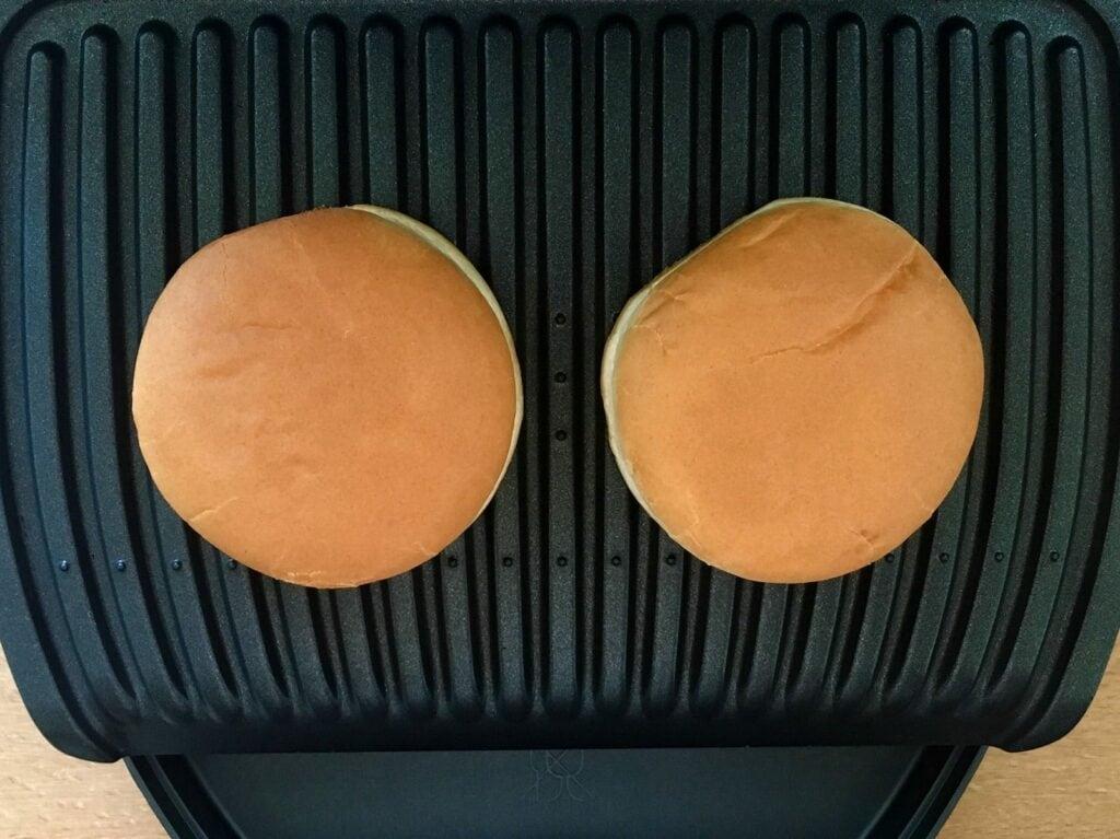 Burger Buns OptiGrill