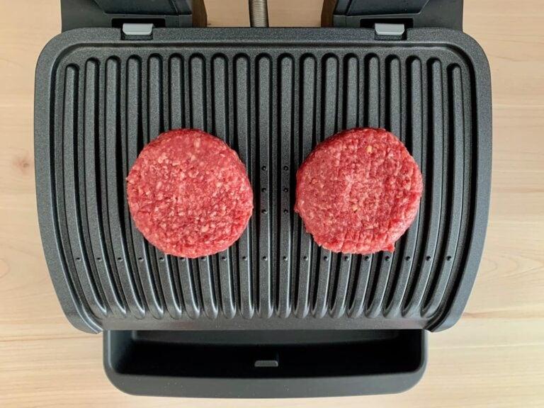 Burger Patties OptiGrill grillen 1