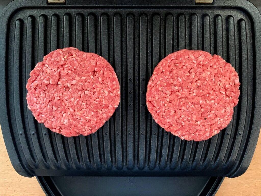 Burger Patties OptiGrill grillen 3