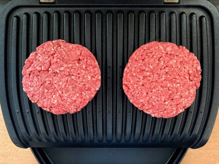 Burger Patties OptiGrill grillen