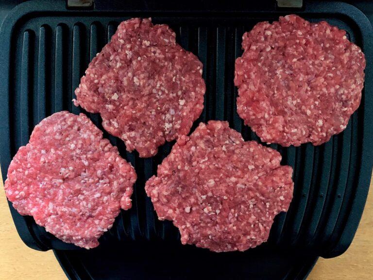 Burger Patties grillen OptiGrill