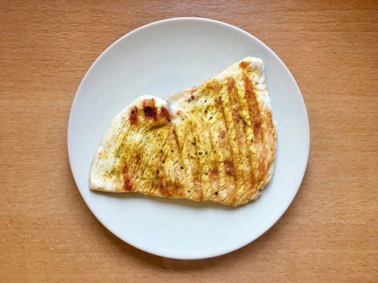 Curry Putenbrustschnitzel OptiGrill