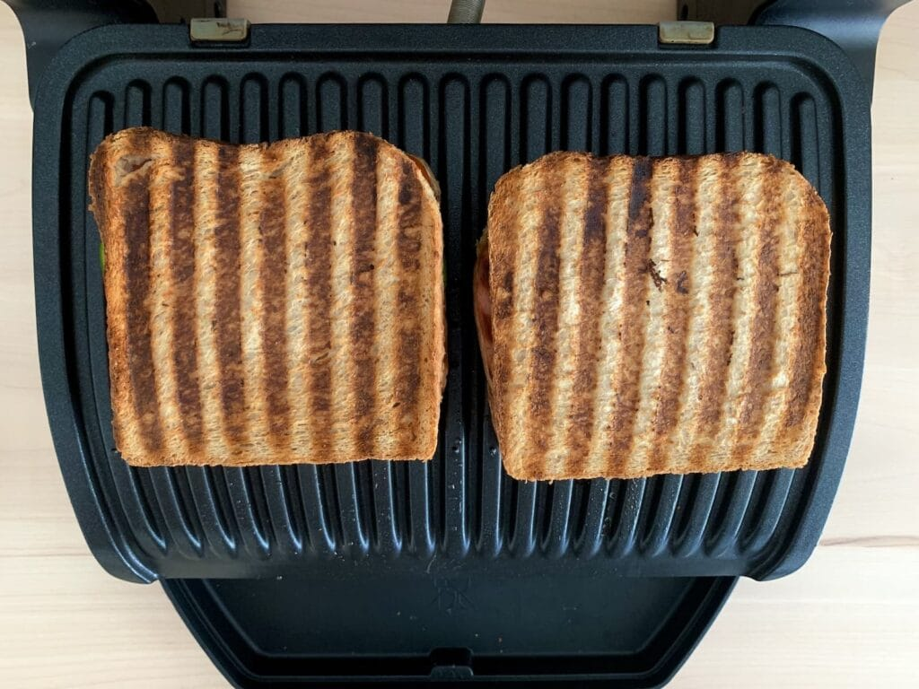 Fleischkäse Sandwich OptiGrill 1