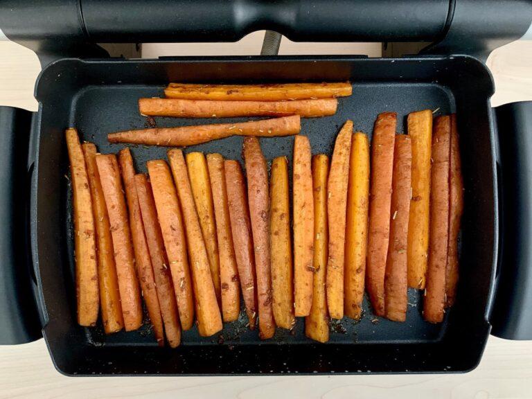 Gebackene Karotten Sticks OptiGrill