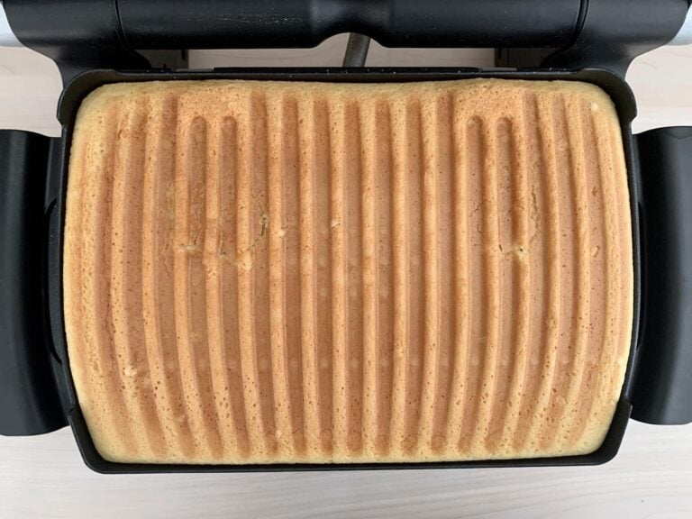 Gebackener Kuchen OptiGrill Backschale