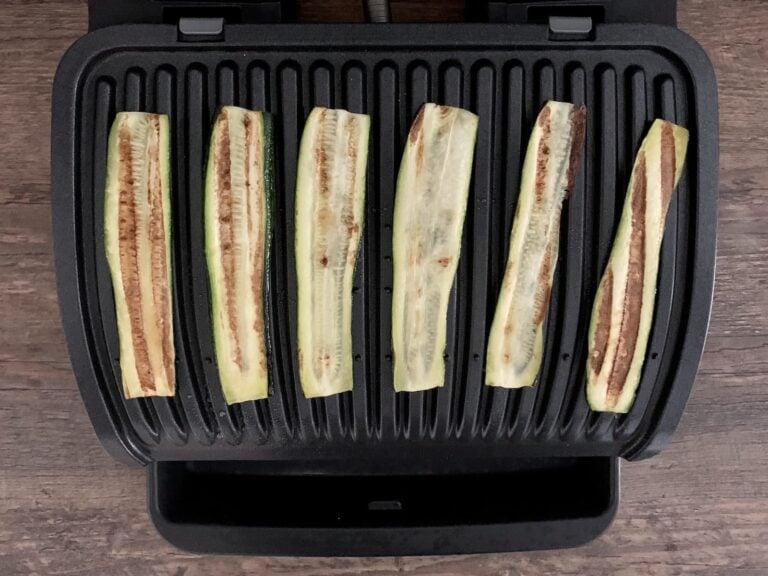 Gegrillte Zucchini Streifen