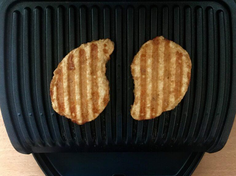 Gegrillte vegetarische Steaks OptiGrill