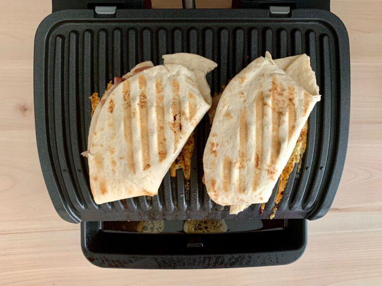 Gegrillter Bacon Cheeseburger Wrap