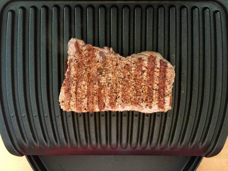 Gegrilltes Steak OptiGrill Rezept