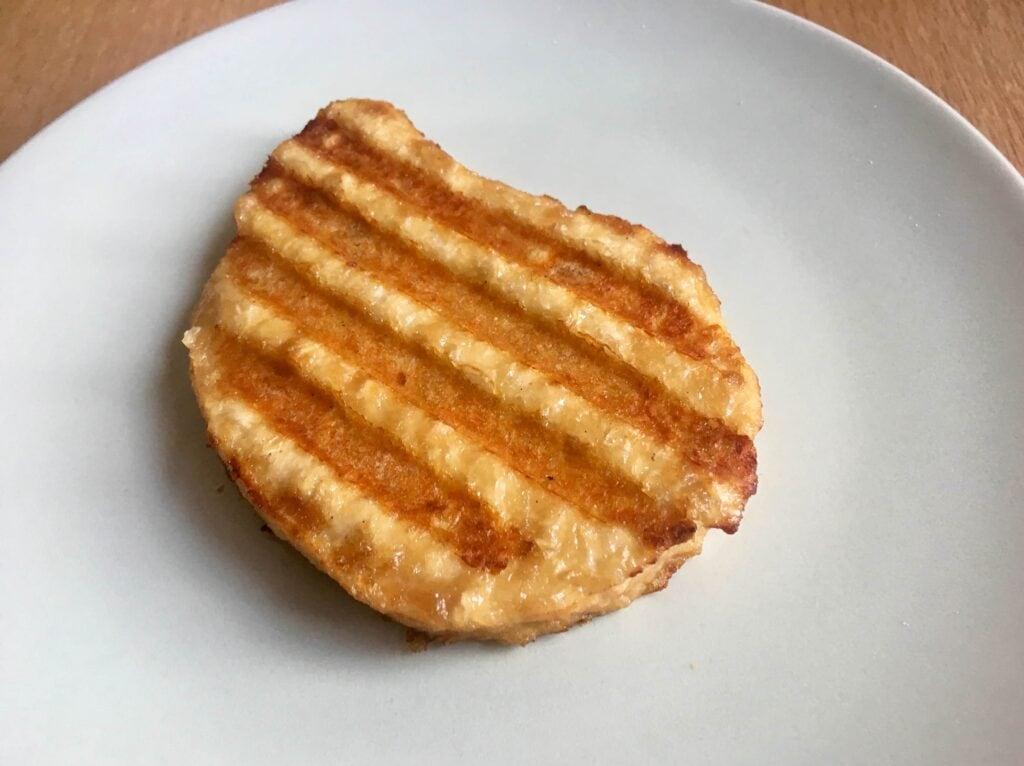 Gegrilltes vegetarisches Steak Kontaktgrill