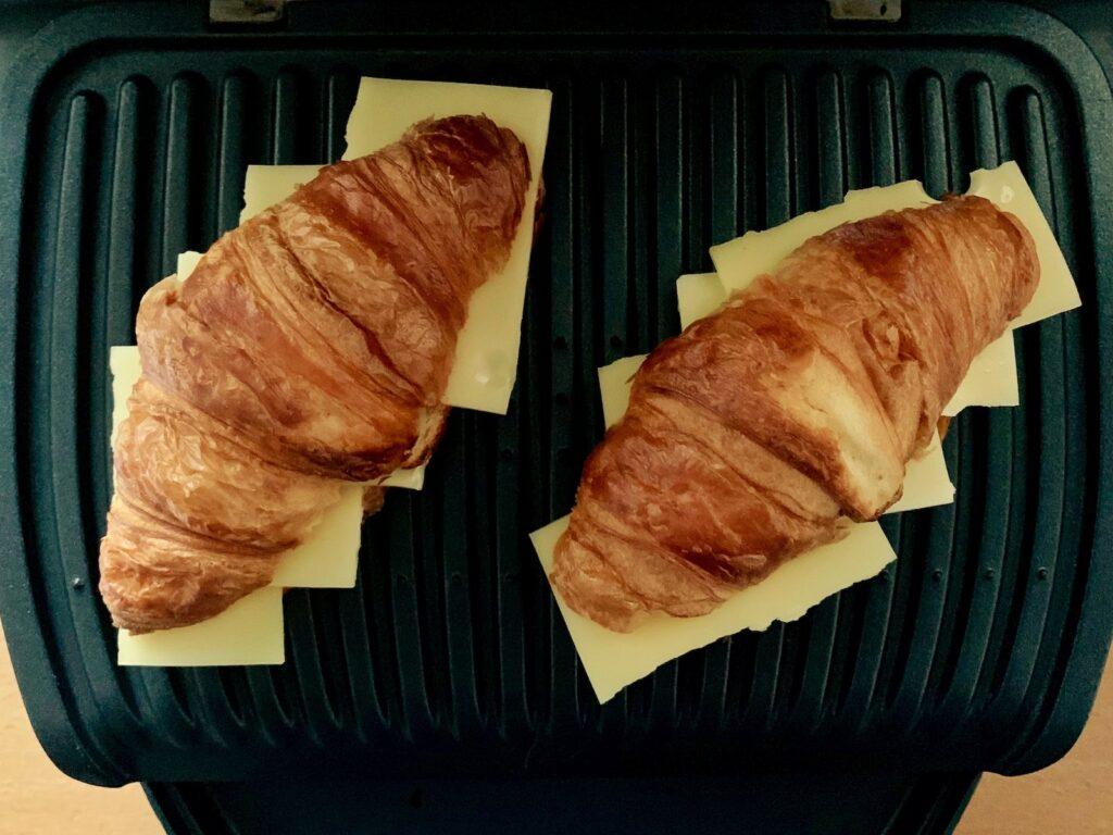 Käse Croissant OptiGrill