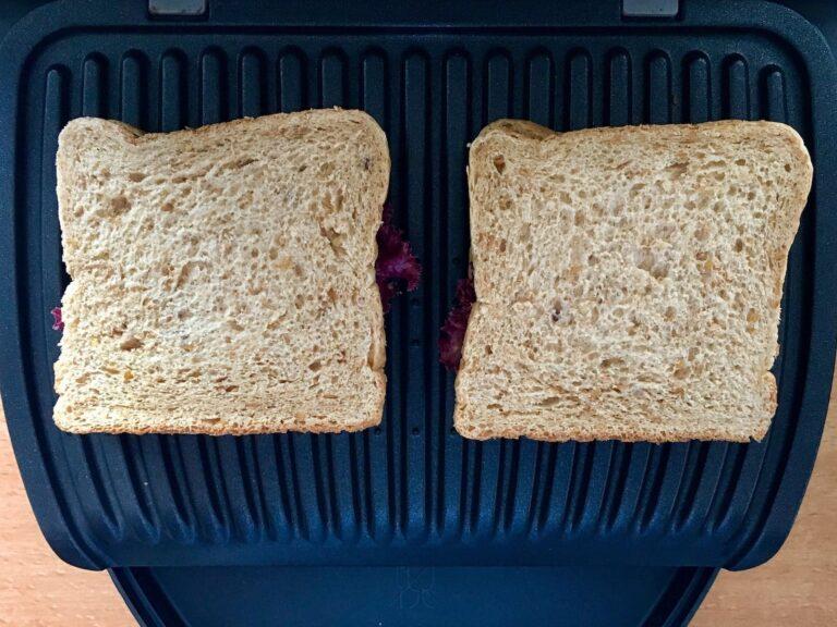 Kaese Sandwich auf OptiGrill
