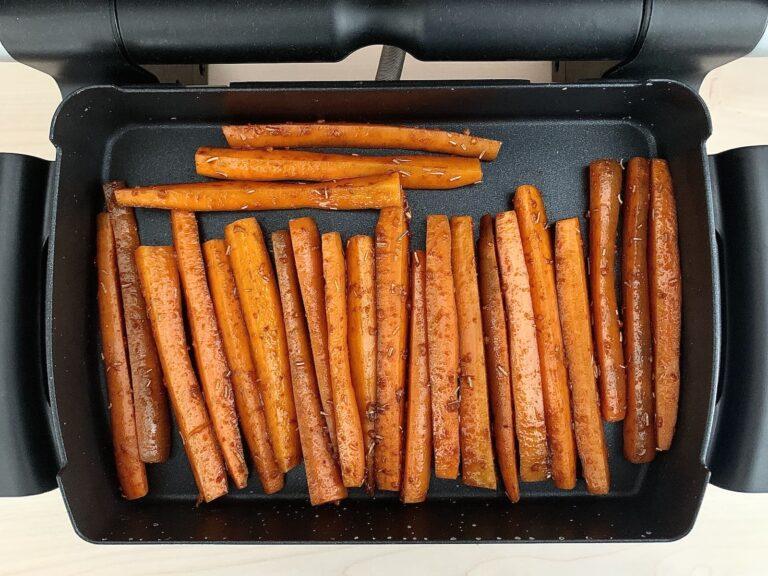 Karotten Sticks OptiGrill Backschale