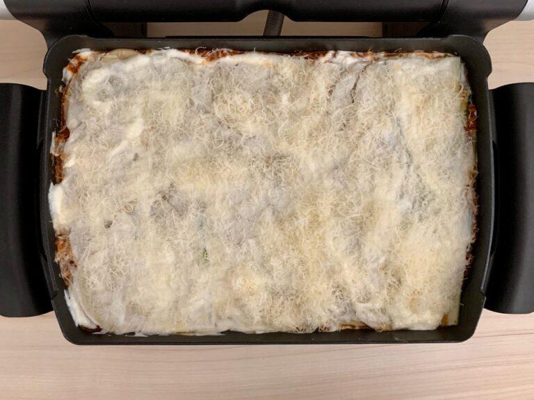 Kartoffel Zucchini Lasagne backen