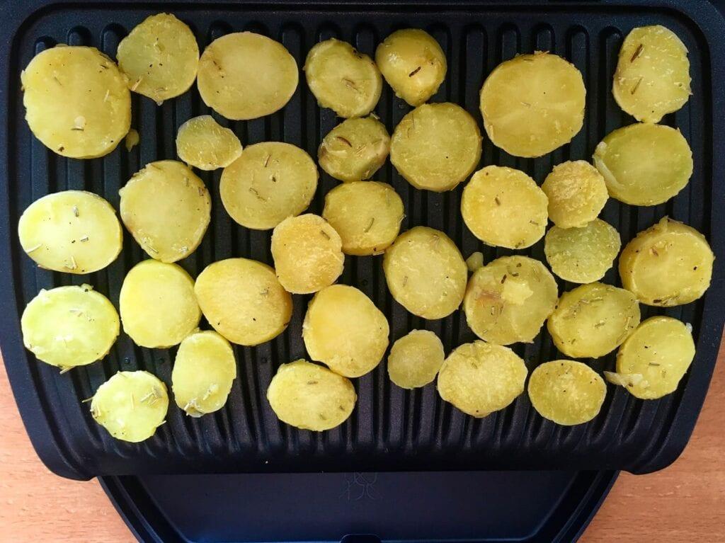 Kartoffeln OptiGrill grillen