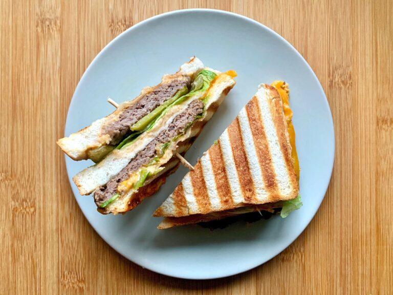 Kontaktgrill Rezept Big Mac Sandwich