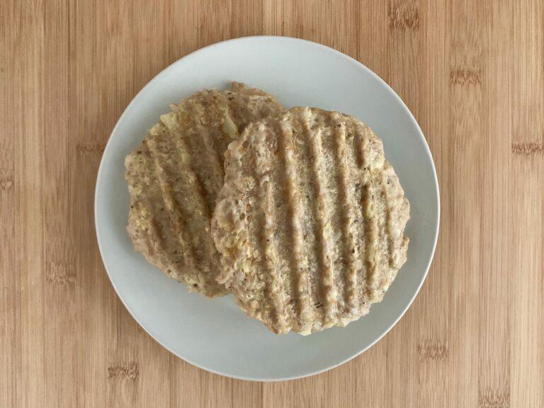 Kontaktgrill Rezept Gefluegelburger Patties grillen