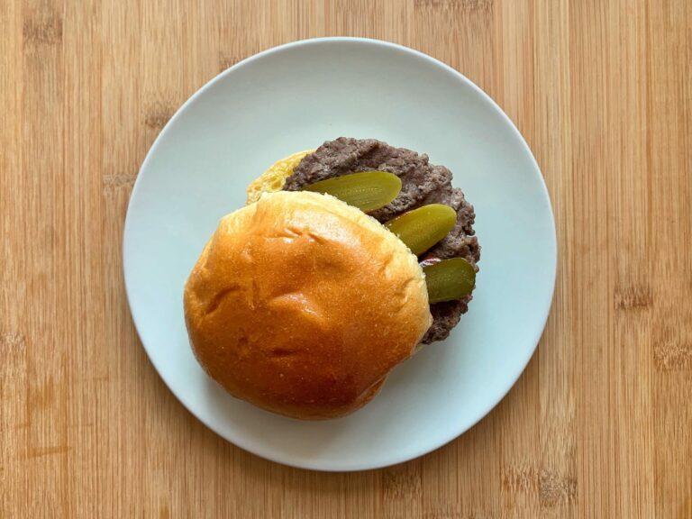 Kontaktgrill Rezept Hamburger
