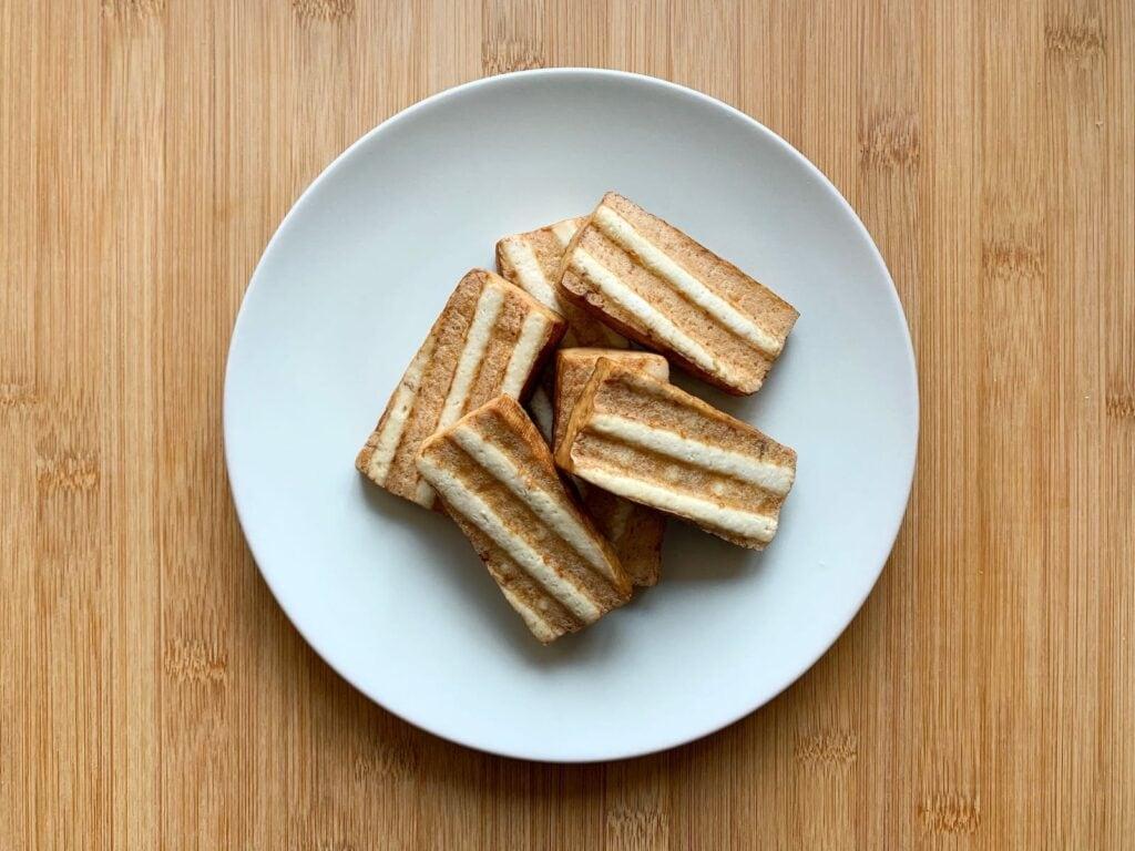 Kontaktgrill Rezept Tofu grillen