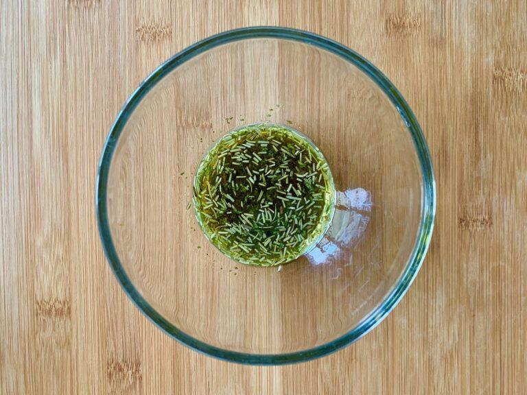 Olivenöl Rosmarin Petersilie Marinade