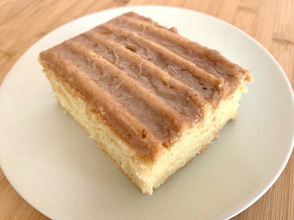 OptiGrill Backschale Rezept Kuchen Zimtglasur