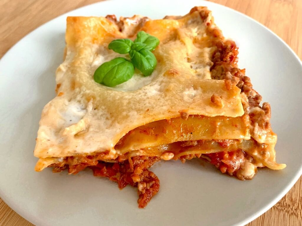 OptiGrill Backschale Rezept Lasagne