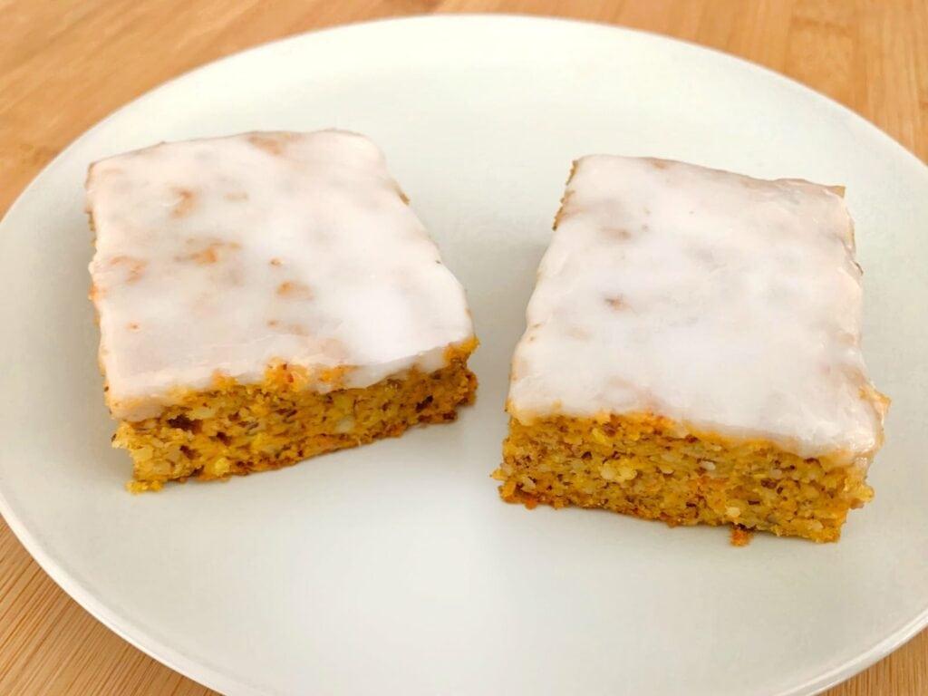 OptiGrill Backschale Rezept Moehrenkuchen