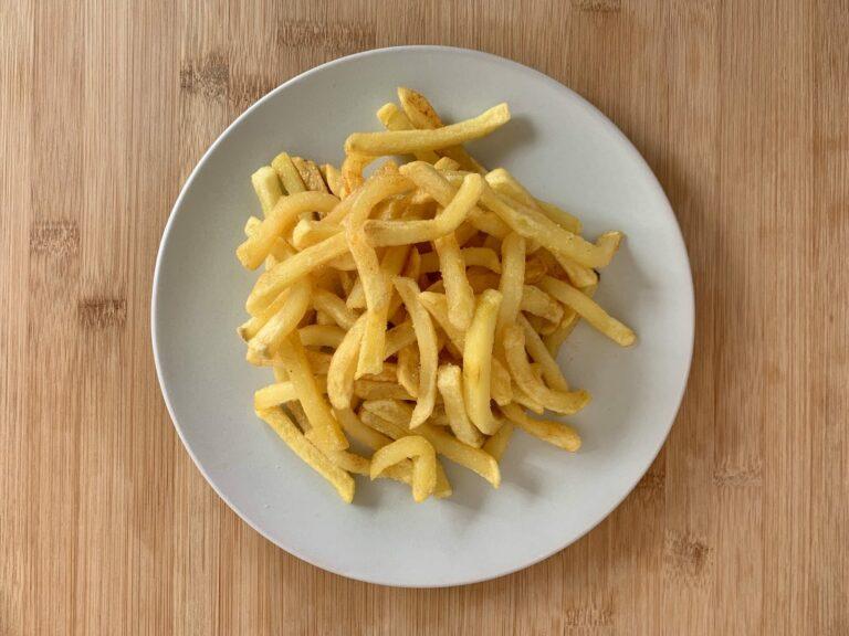 OptiGrill Backschale Rezept Tiefkühl Pommes