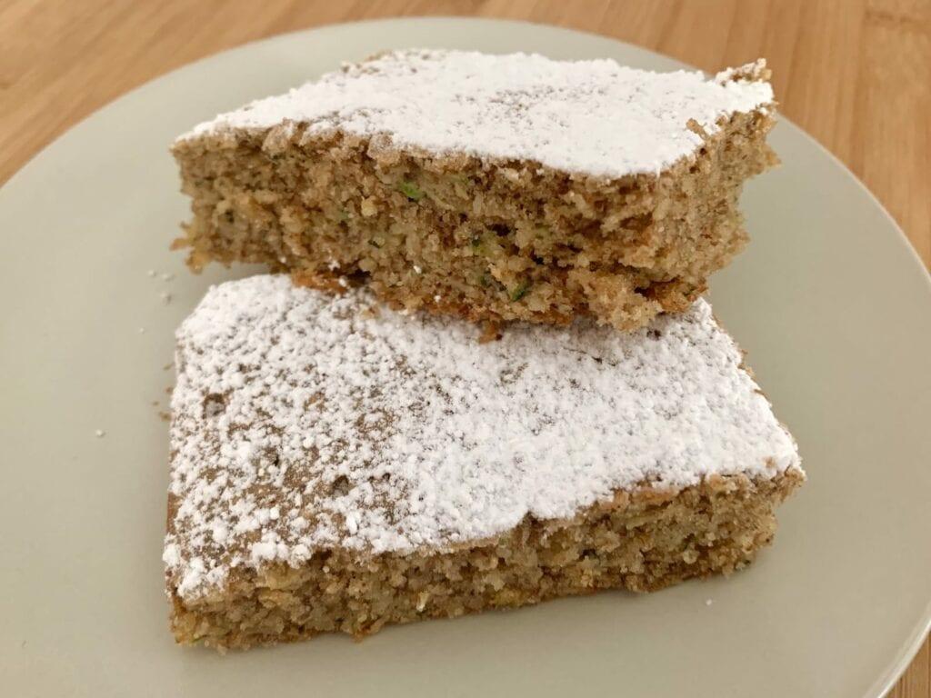 OptiGrill Backschale Rezept Zucchini Nuss Kuchen