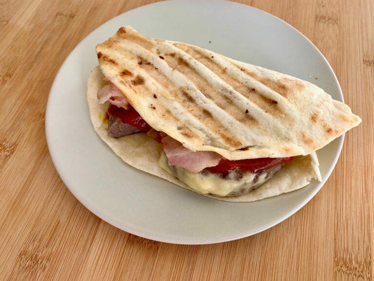 Bacon-Cheeseburger-Wrap