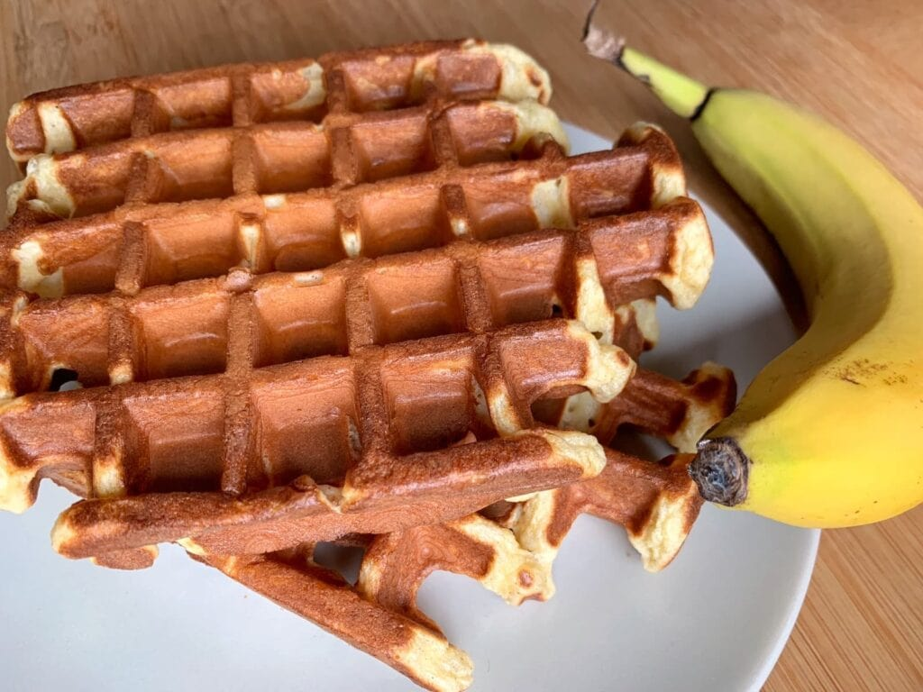 OptiGrill Rezept Banane Skyr Waffeln