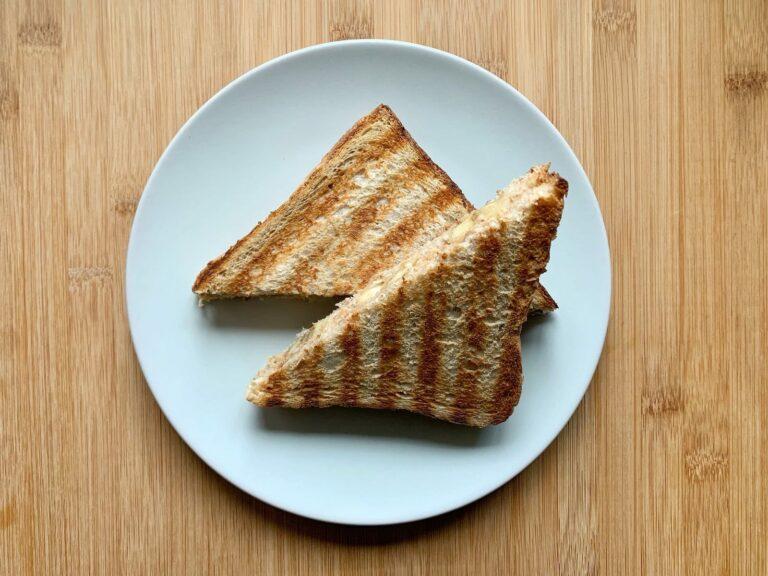 OptiGrill Rezept Bananen Erdnussbutter Sandwich
