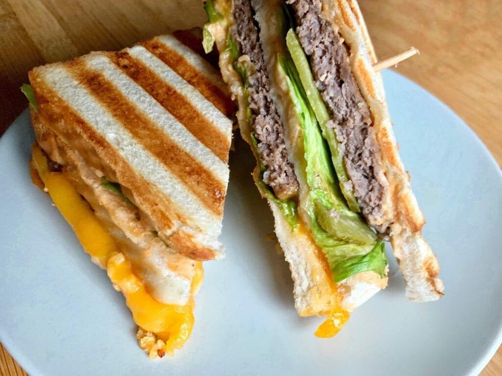 OptiGrill Rezept Big Mac Sandwich