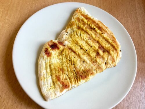 Curry-Putenbrustschnitzel