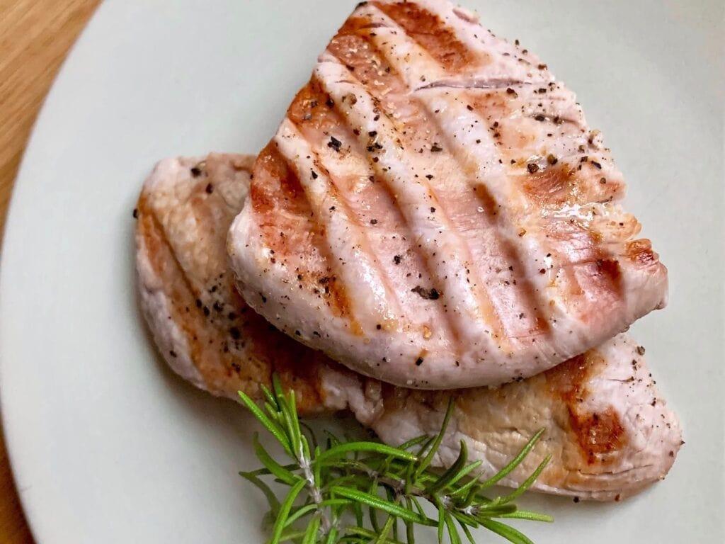 OptiGrill Rezept Gegrilltes Schweinefilet