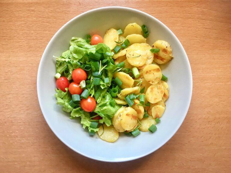 OptiGrill Rezept Grill Kartoffeln Salat