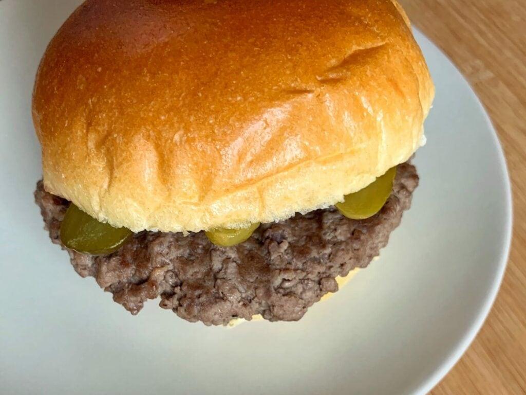 OptiGrill Rezept Hamburger
