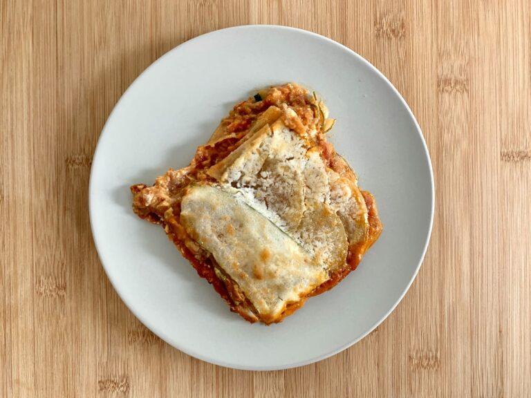 OptiGrill Rezept Kartoffel Zucchini Lasagne