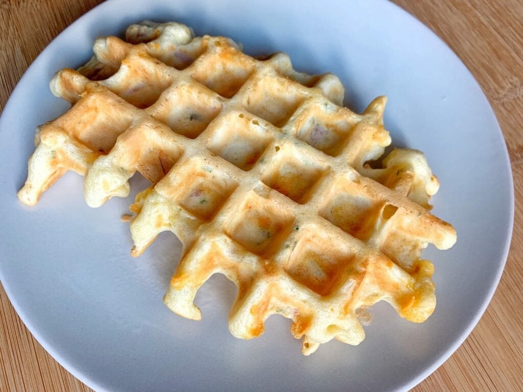 OptiGrill Rezept Schinken Käse Waffeln