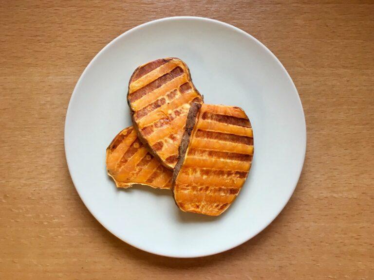 OptiGrill Rezept Suesskartoffel grillen