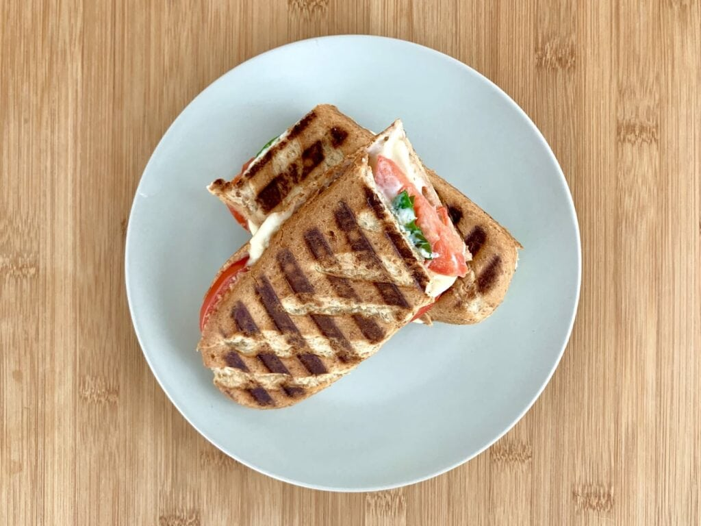 OptiGrill Rezept Tomate Mozzarella Sandwich