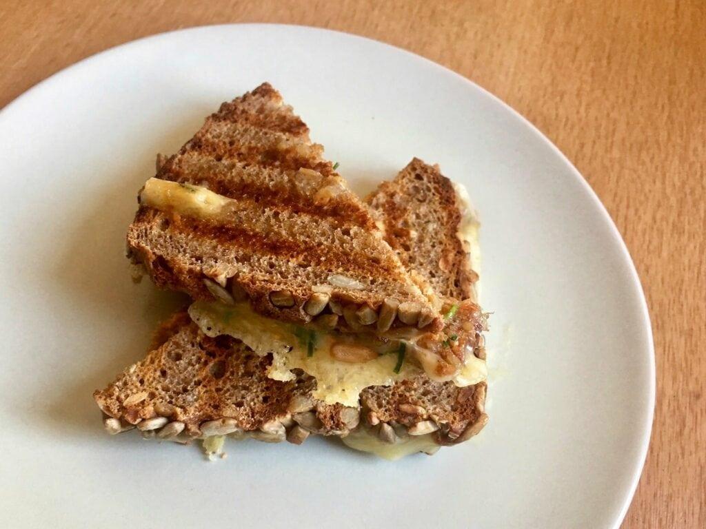 OptiGrill Rezept Vollkorn Sandwich Kaese