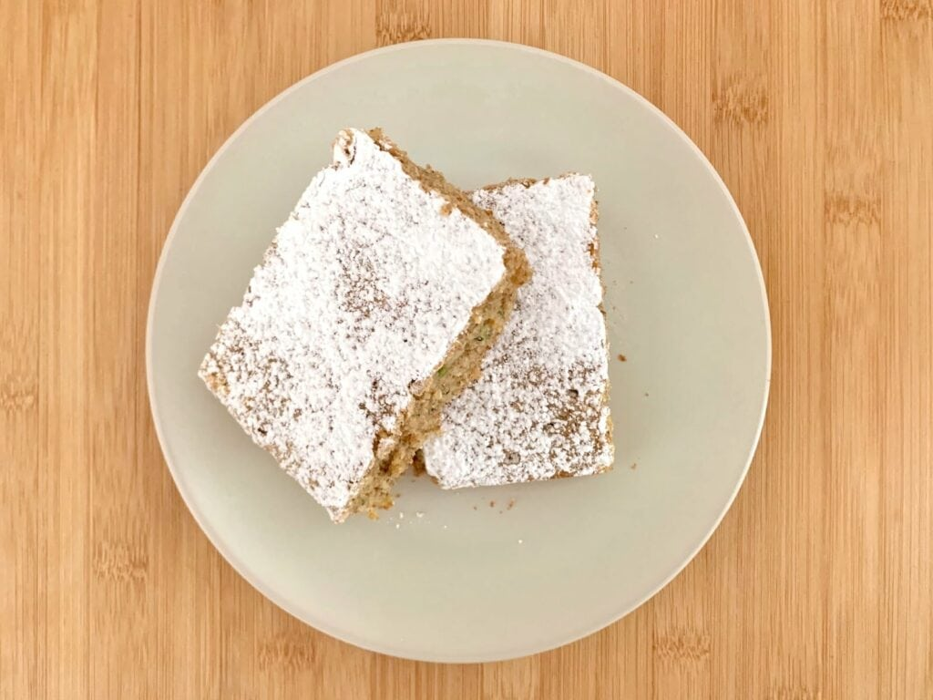 OptiGrill Rezept Zucchini Nuss Kuchen