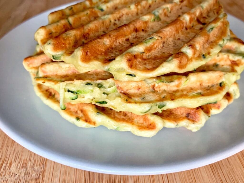 OptiGrill Rezept Zucchini Puffer